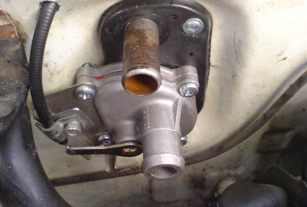 Кран отопления ВАЗ-2109