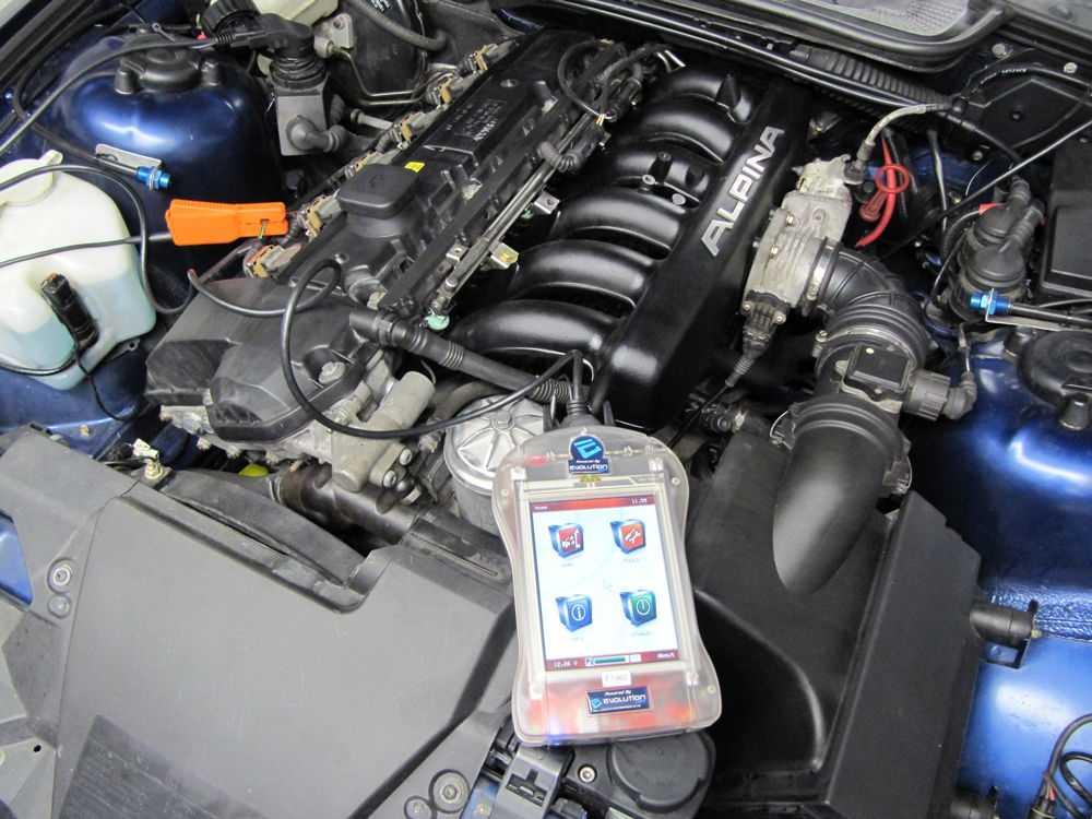 Перепрошивка ЭБУ двигателя автомобиля