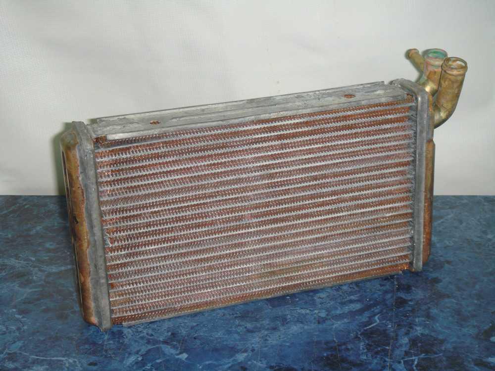 Медный радиатор печки