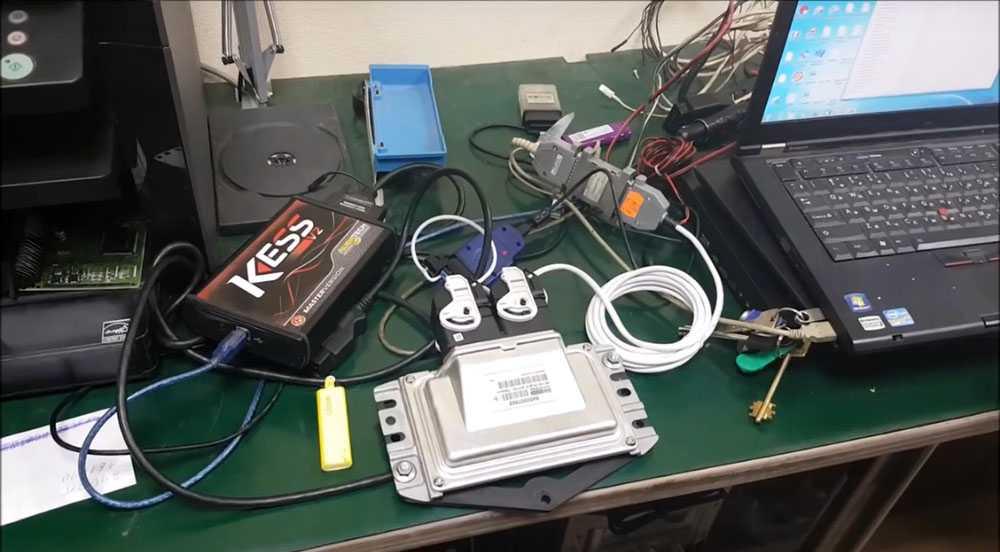Модернизация электронного блока управления