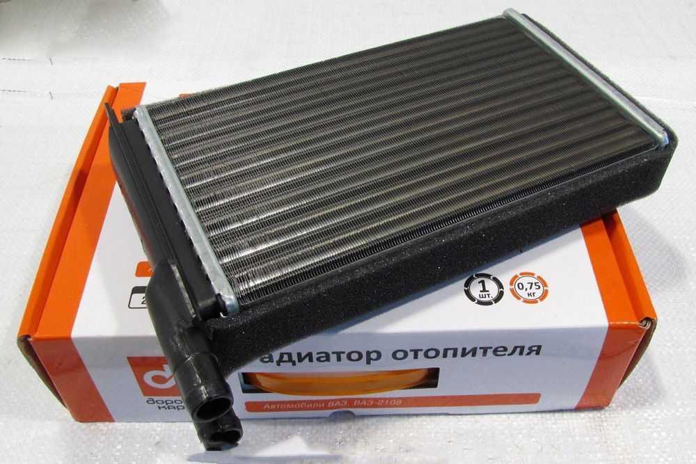 Новый радиатор печки ВАЗ-2115