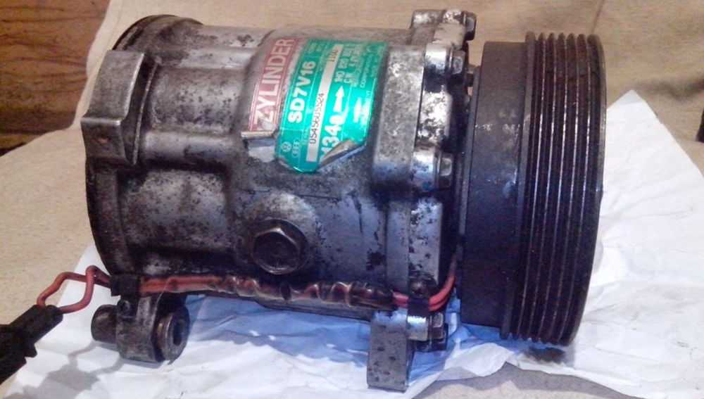 Очистка компрессора