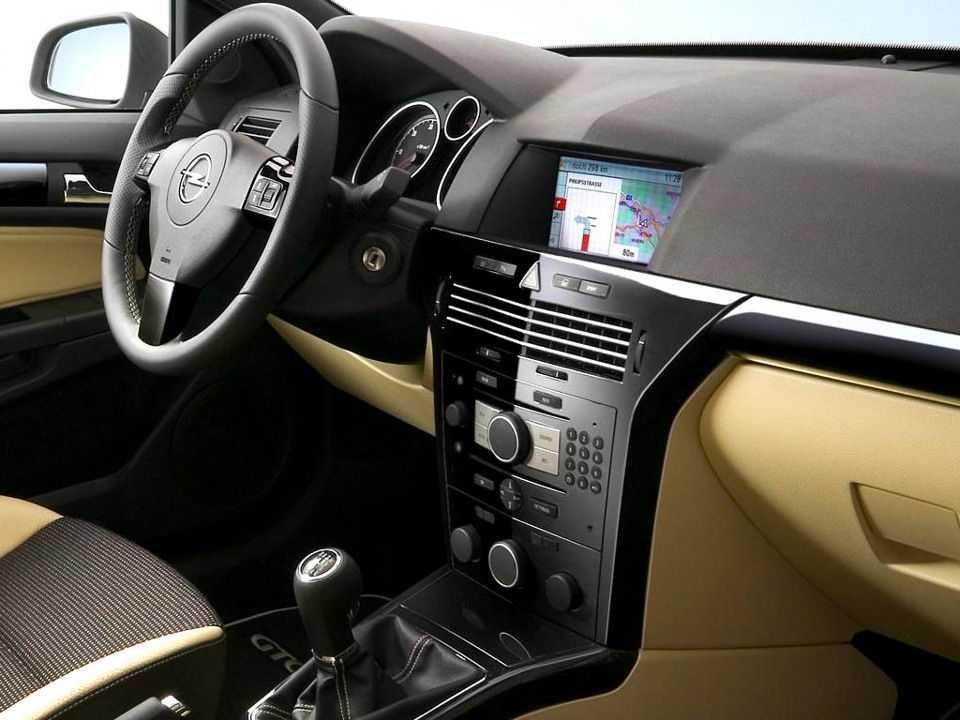 Салон Opel Astra H