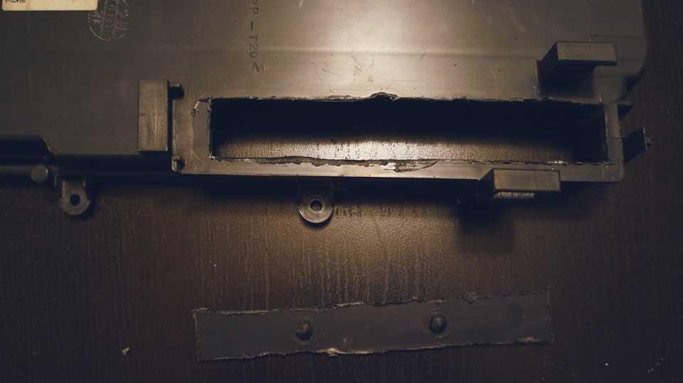 Отверстие в крышке испарителя
