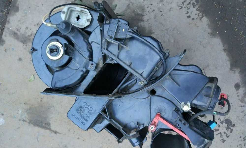 Печка Audi 100