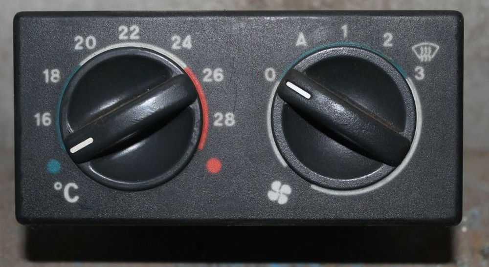 Панель переключения печки ВАЗ-2110