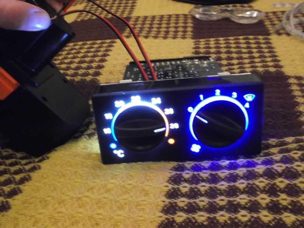 Подсветка блока управления ВАЗ-2110