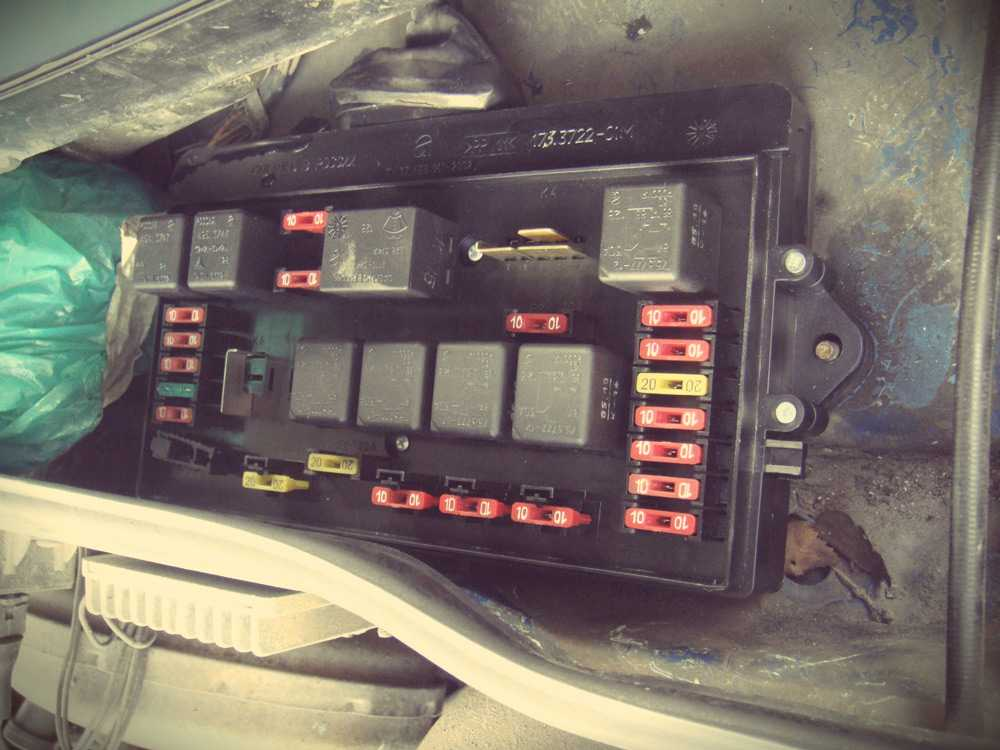 Предохранитель печки ВАЗ-2114