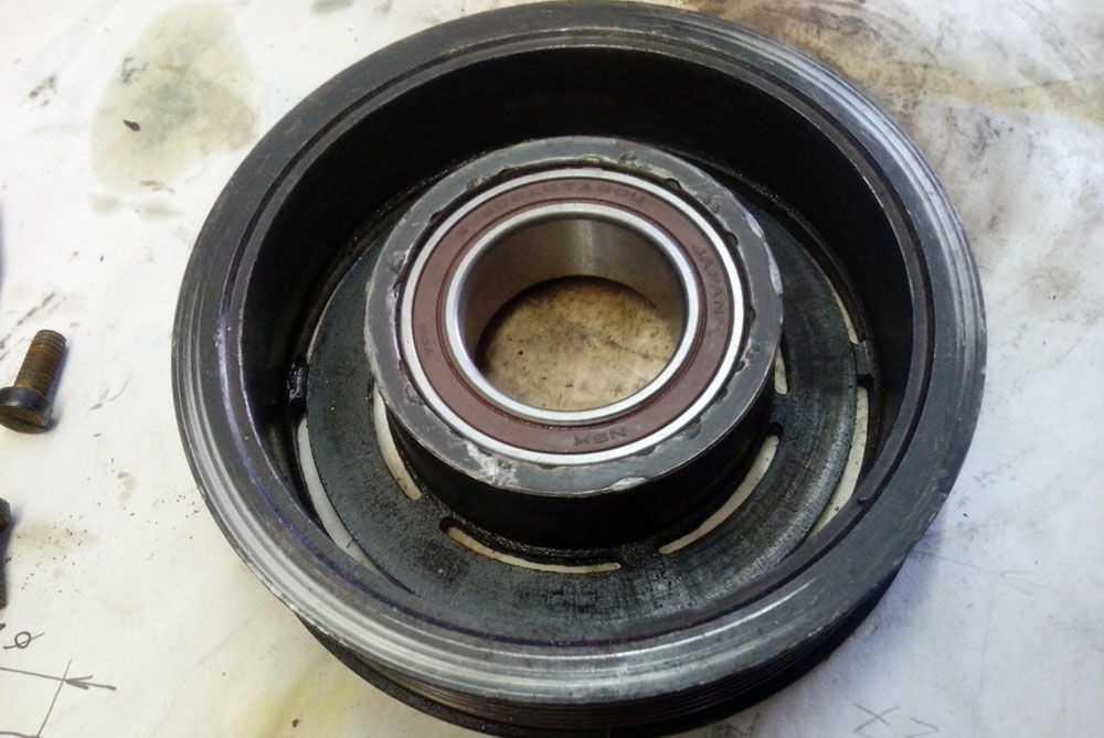 Приводной шкив компрессора
