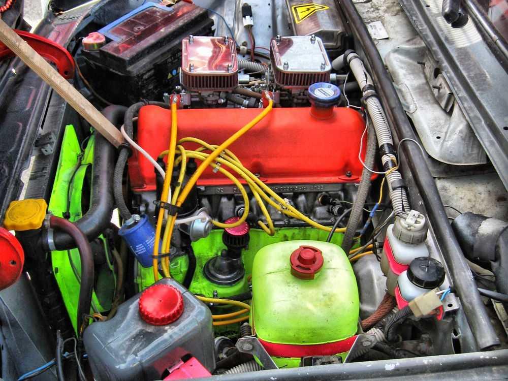 Тюнингованный двигатель на ВАЗ-2106