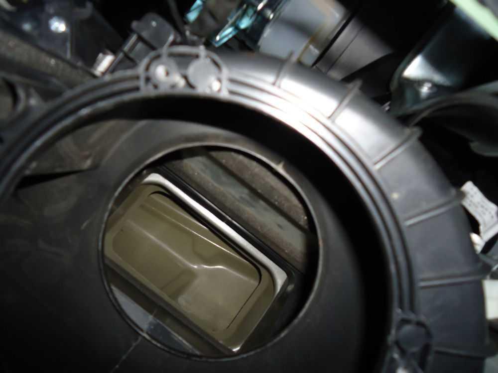 Место для установки фильтра