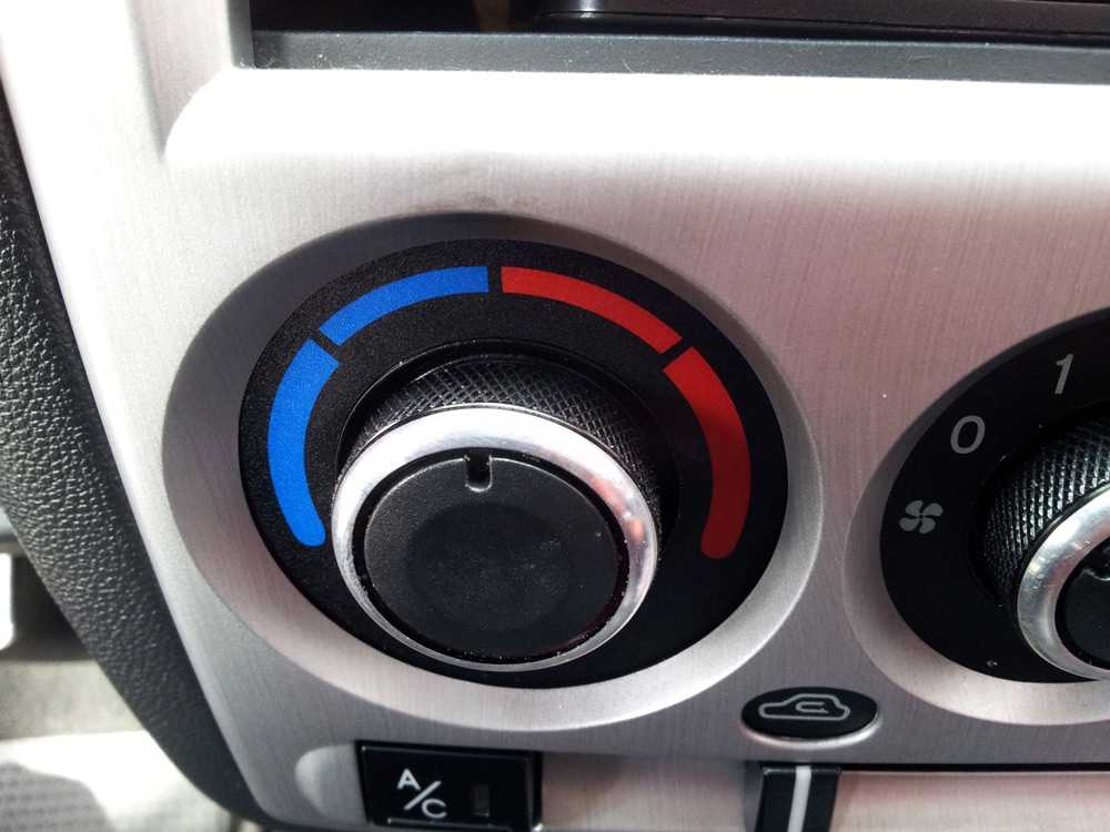 Регулятор печки Hyundai Getz