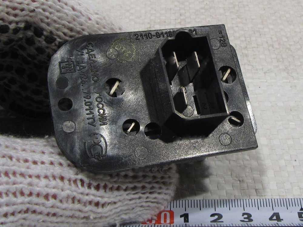 Резистор печки ВАЗ-2112