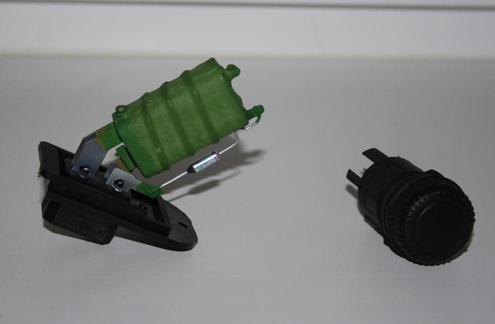 Резистор печки ВАЗ-2114