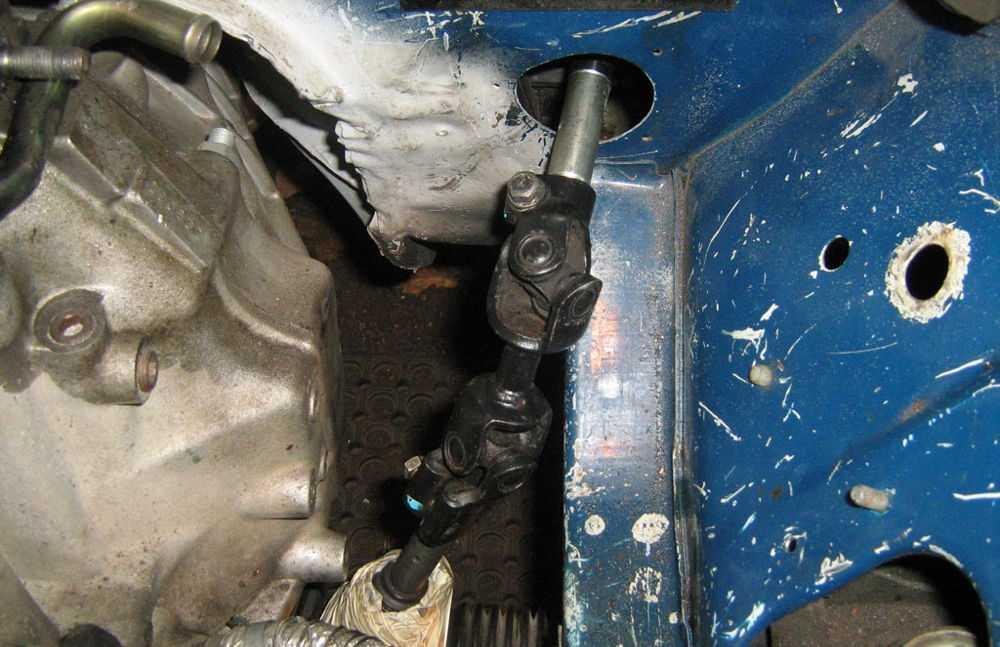 Рулевая система ВАЗ 2107