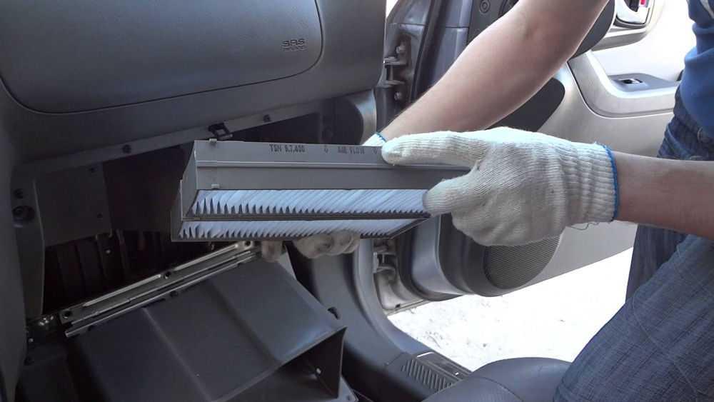 Воздушный фильтр салона автомобиля