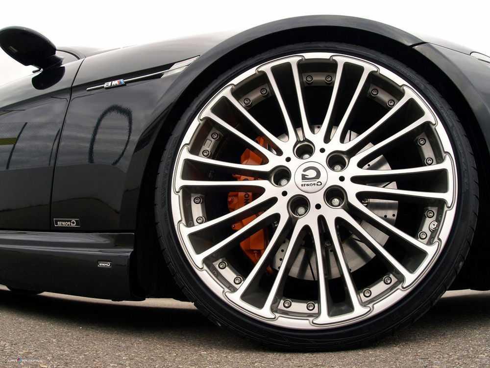 BMW M6 со спортивными колесами