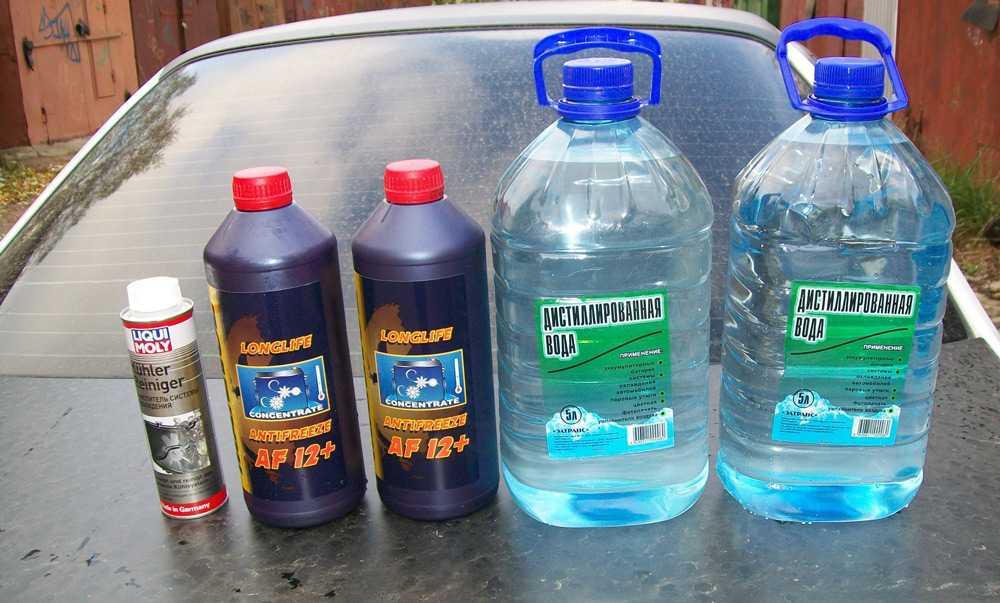 Моющие средства для промывки радиатора печки