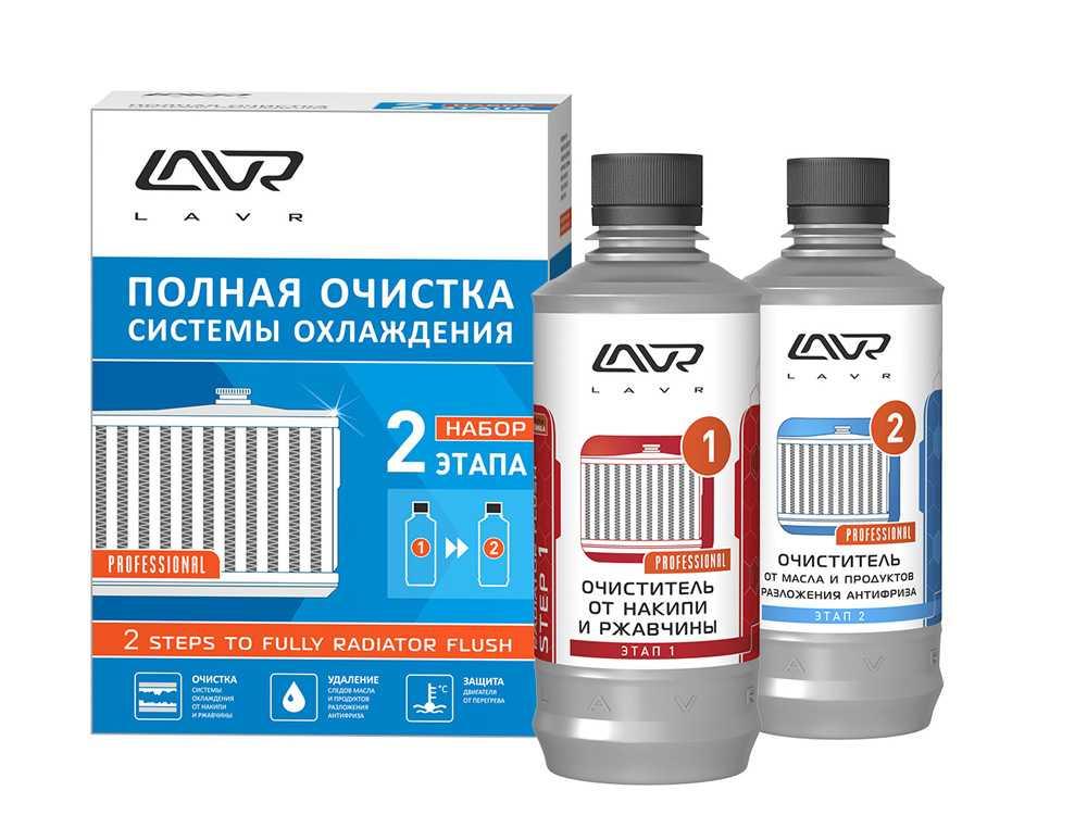 Средства для промывки радиатора печки