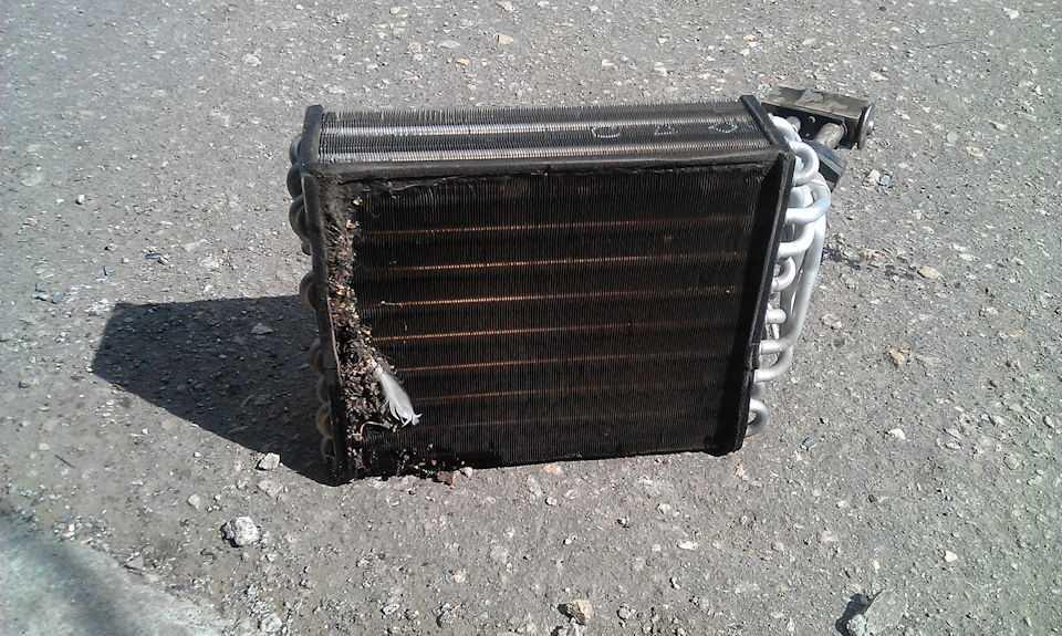 Старый радиатор