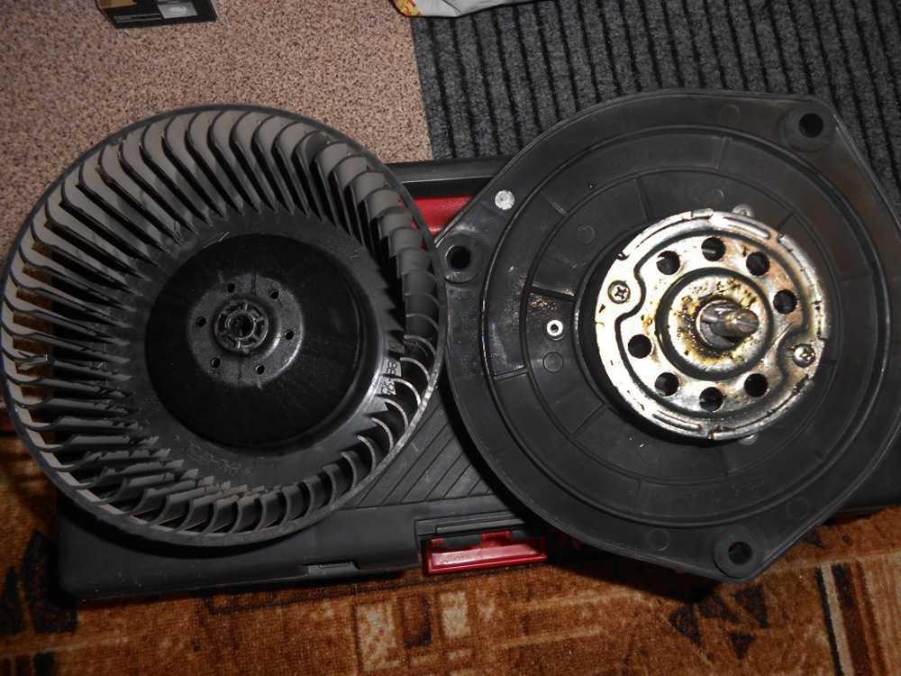 Старый вентилятор отопителя