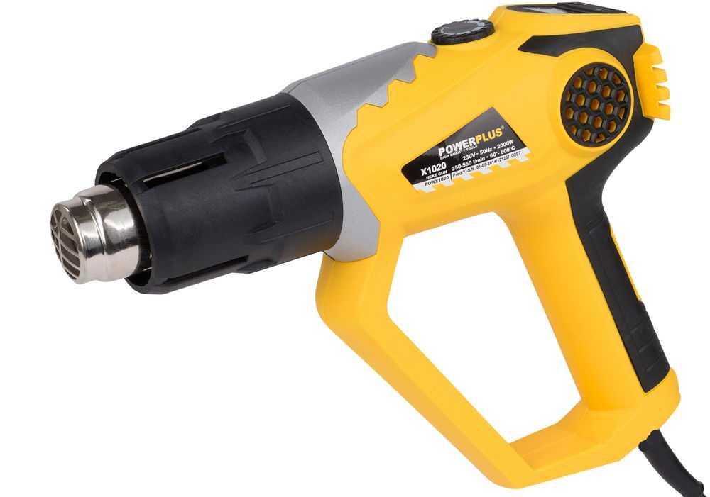 Строительный фен Powerplus POW X1020