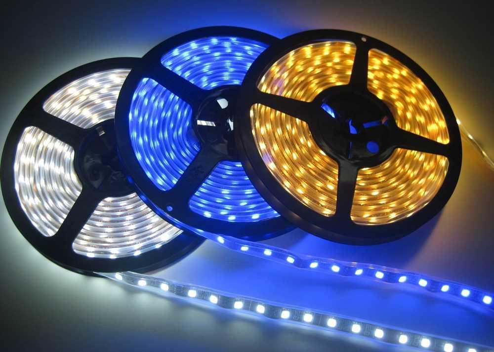 Светодиодные ленты Lightstar разных цветов