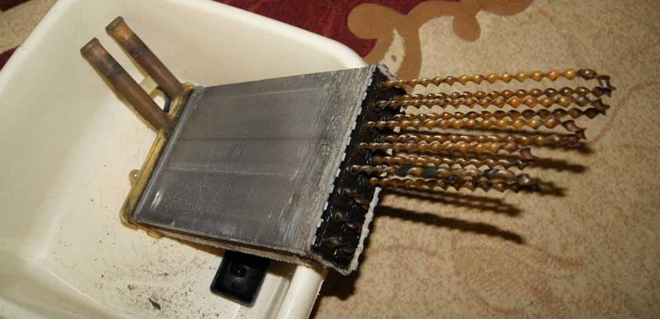 Трубки радиатора