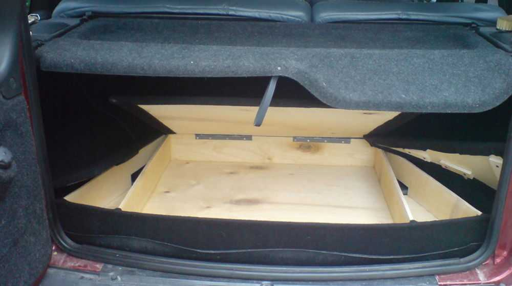 Тюнинг багажника Нивы
