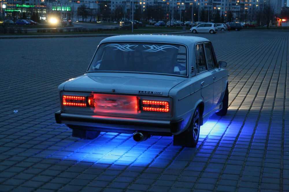 Тюнинг фар ВАЗ-2106