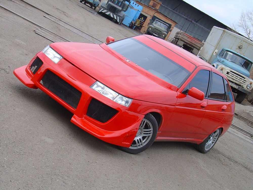 Красный ВАЗ