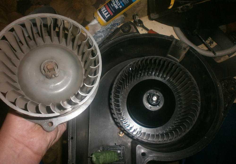 Вентилятор печки ГАЗ-3110