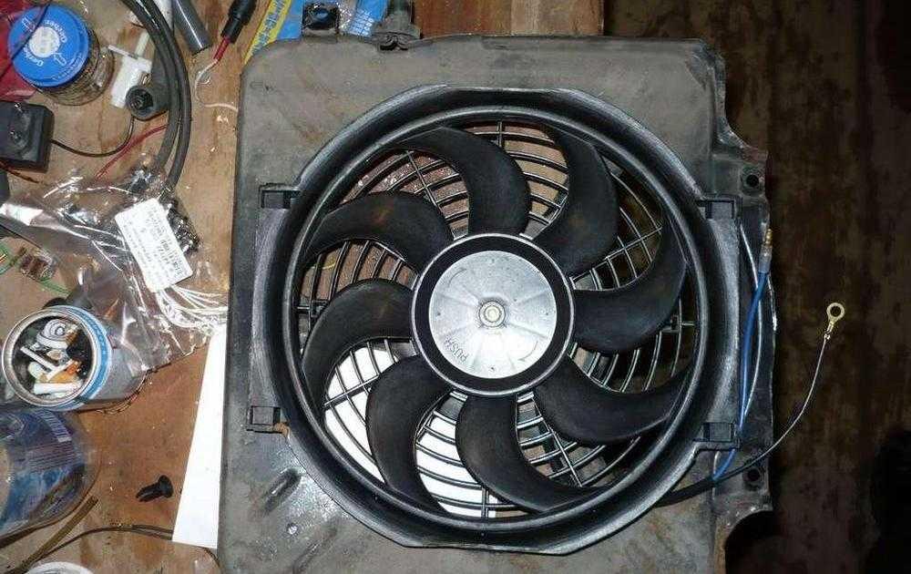 Вентилятор печки на ВАЗ-2109