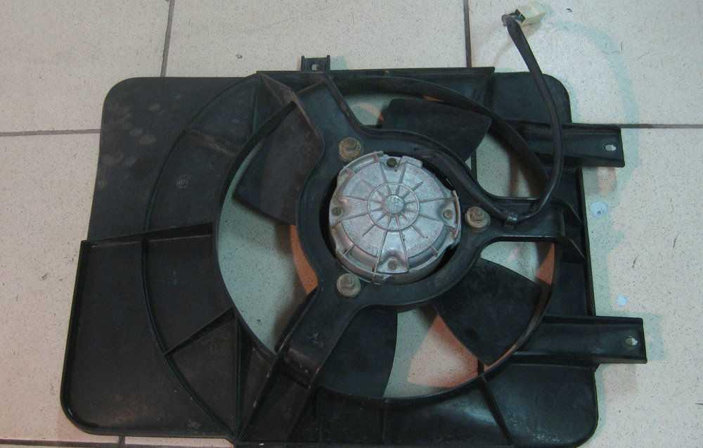 Вентилятор ваз 2110