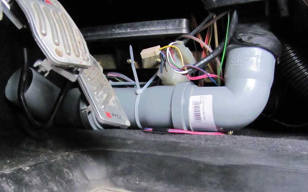 Доработка воздуховодов ВАЗ-2110