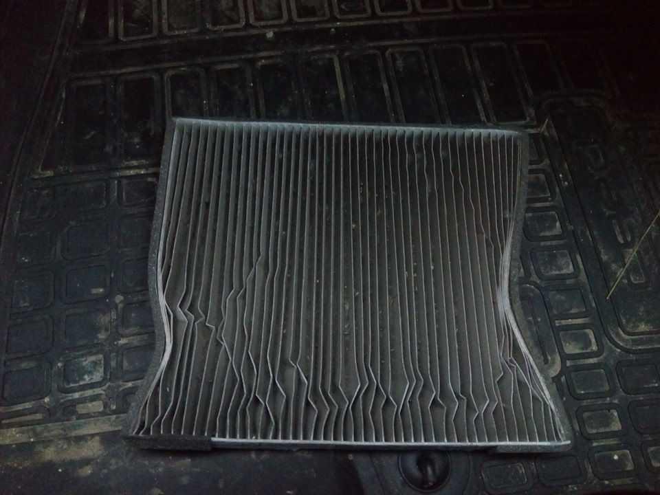 Забитый фильтр