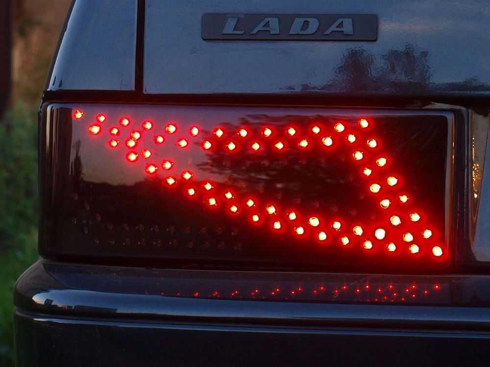 Задняя фара со светодиодами на ВАЗ