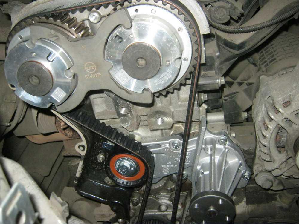 Замена помпы в Форд Фокус 3