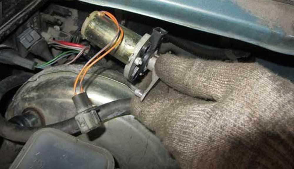 Замена моторедуктора печки ВАЗ-2110