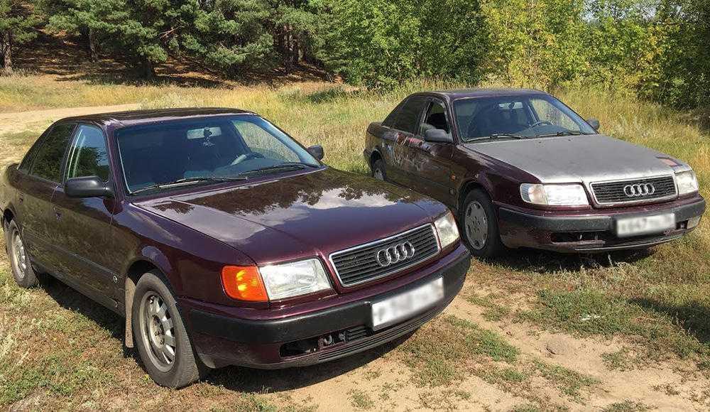 Замена салонного фильтра Audi 100