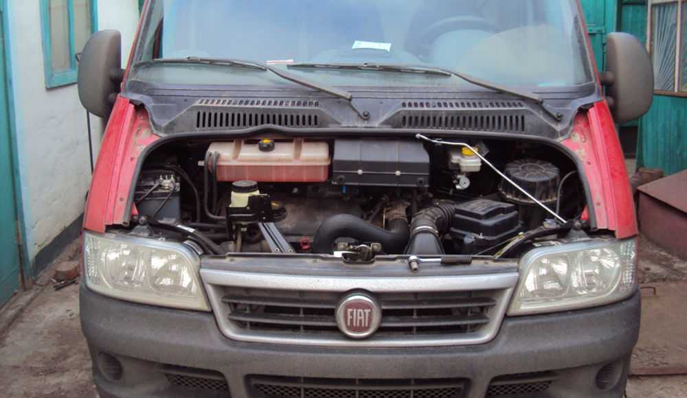 Замена салонного фильтра Fiat Ducato