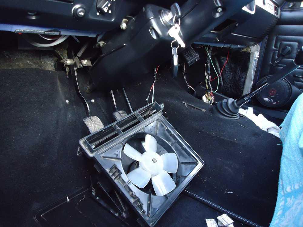 Замена вентилятора печки ВАЗ