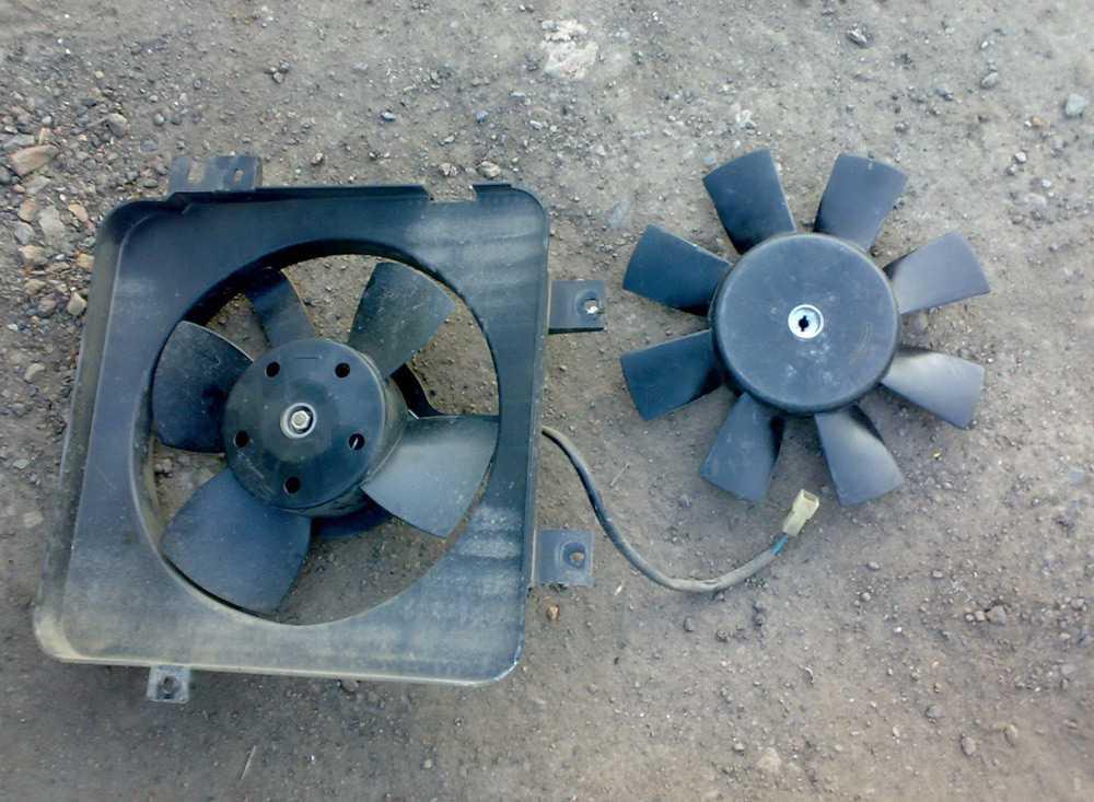 Замена вентилятора печки ВАЗ-2106