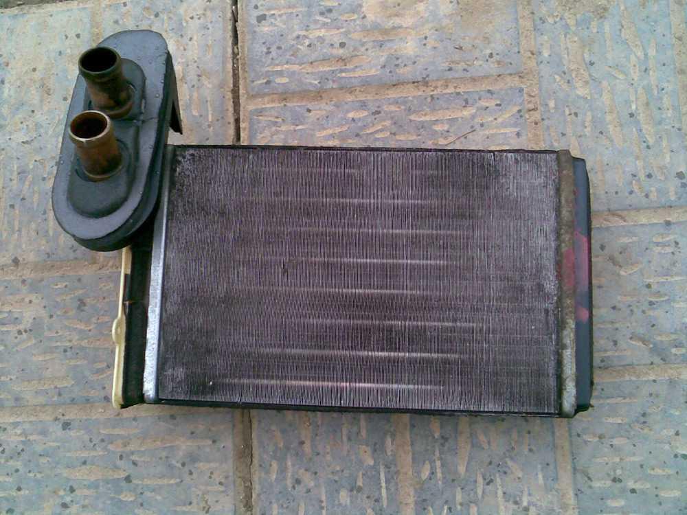 Засорение радиатора печки Фольксваген Гольф 2
