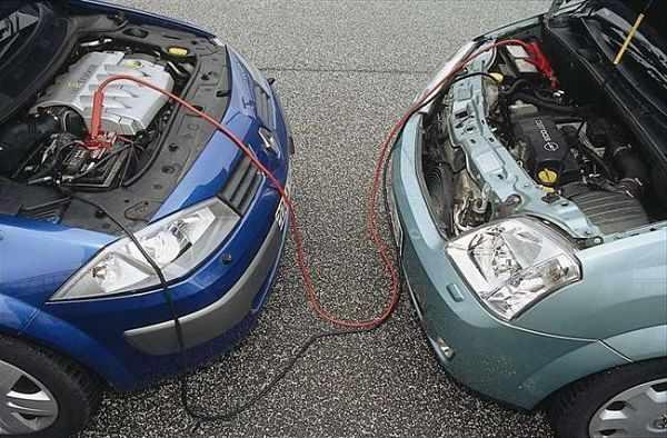 Порядок прикуривания автомобиля