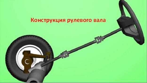 устройство рулевого вала