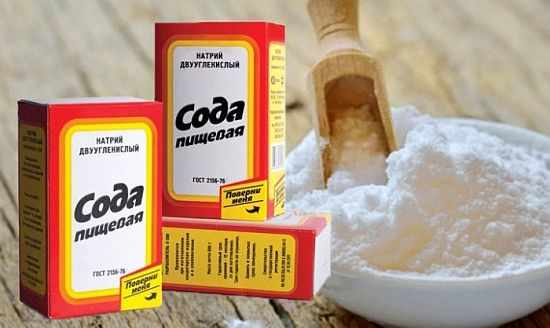 пищевая сода для удаления запаха