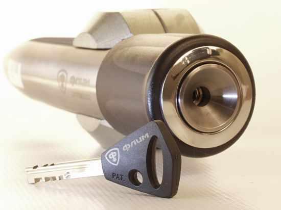 Цилиндр и ключ Abloy