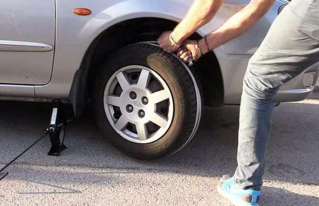 заводим авто с помощью стропы