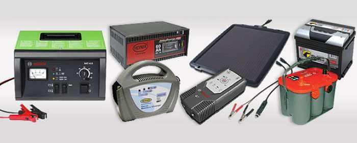 Типы и назначение зарядных устройств